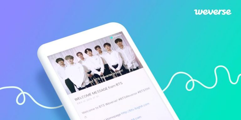 BTSの公式ファンコミュニティ BTS Weverseの登録方法・内容・アプリの使い方は?